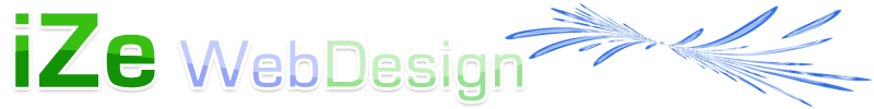 iZe Web Design Logo